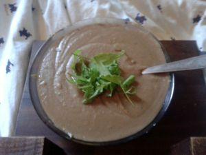Photo de téléphone crappy quality, mais d'façon c'est une soupe, à quoi voulez-vous que ça ressemble?